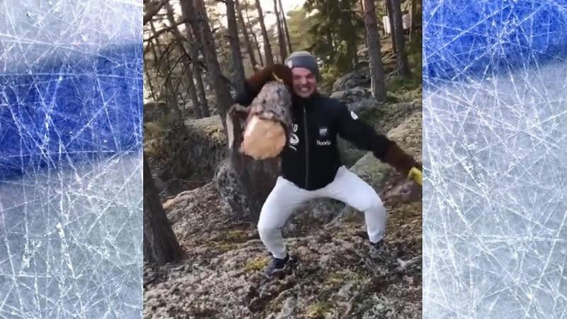 Video: Suomalaislupaus julkaisi Rocky-henkisen treenivideon – Jonne Virtanen latasi tylyn kuitin