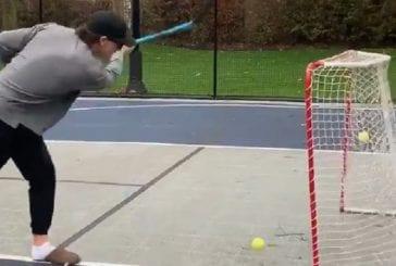 Video: Rangers-hyökkääjä tykitteli koomisen