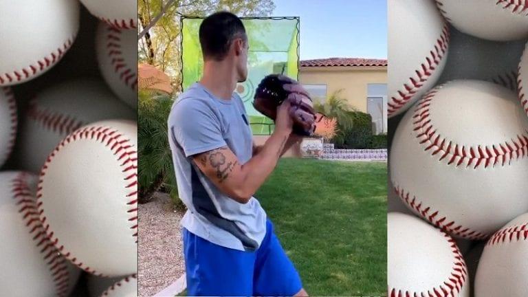 Video: MLB-syöttäjä sähelsi kotitreeneissä – kiskaisi ikkunan päreiksi