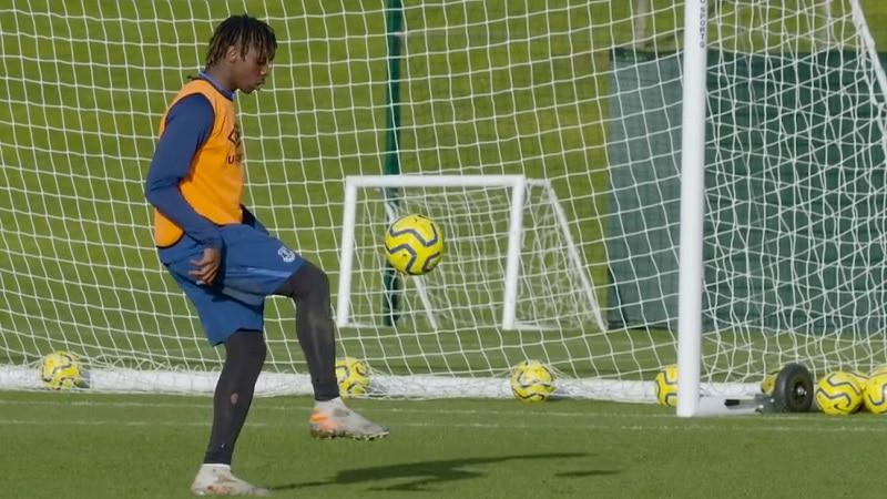 Moise Kean Everton / Pallomeri.net