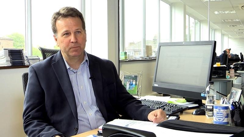 QPR:n toimitusjohtaja Lee Hoos / Pallomeri.net