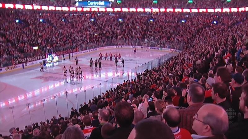 NHL Maailman suurimmat jäähallit yleisö bell centre montreal nhl yleisökeskiarvot- pallomeri.net