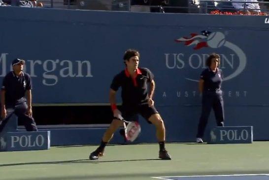 Video: 2000-luvun komein lyönti äänestettiin - ykkösenä Roger Federerin mahtisuoritus