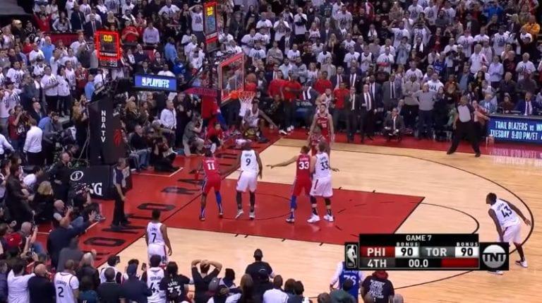 Video: Tasan vuosi sitten nähtiin yksi NBA-historian uskomattomimmista voittokoreista