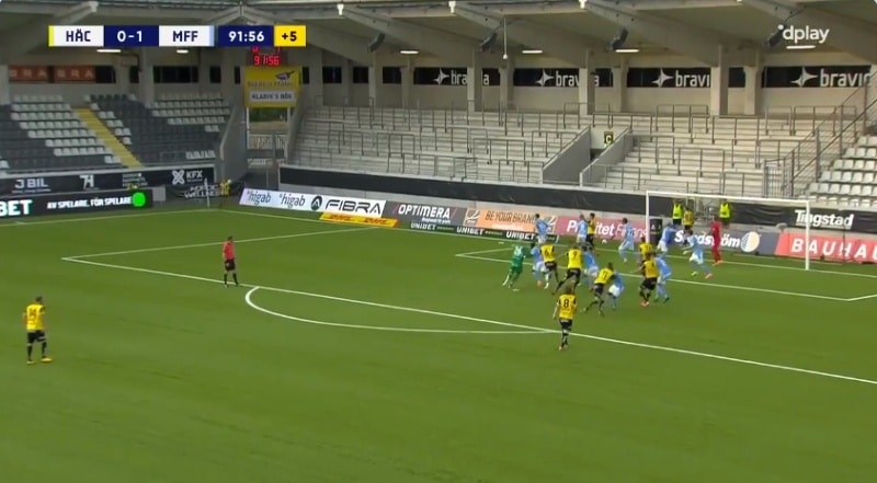 Joona Toivio Allsvenskan Häcken - Pallomeri.net