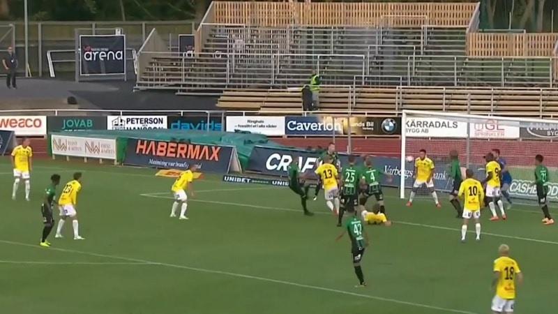 Varberg-Falkenberg Allsvenskan 2020 / Pallomeri.net