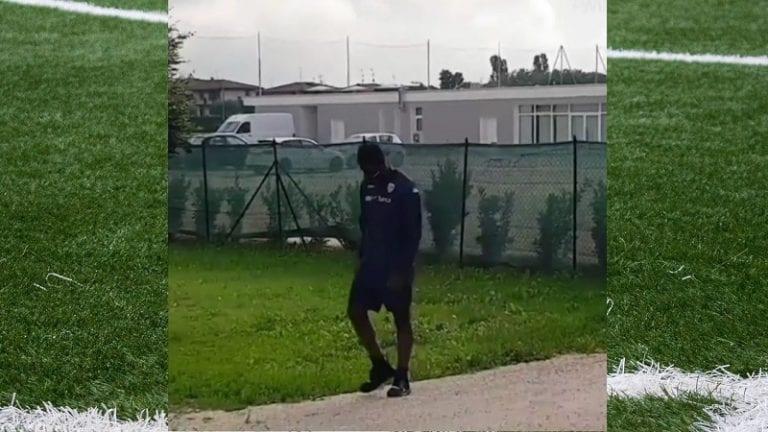 Video: Mario Balotelli ei saanut osallistua harjoituksiin – Brescia aikoo purkaa sopimuksen