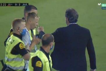 Video: Messin kanssa kuvaan halunnut suomalaispoika juoksi kentälle - aiheutti itselleen ja Mallorcalle reippaat sakot