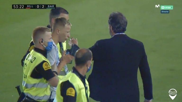 Video: Messin kanssa kuvaan halunnut suomalaispoika juoksi kentälle – aiheutti itselleen ja Mallorcalle reippaat sakot