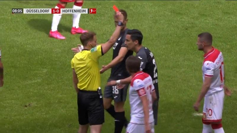 Video: Düsseldorf-pelaaja suolasi härskisti vastustajalle ulosajon – likainen temppu paljastui vasta hidastuksista