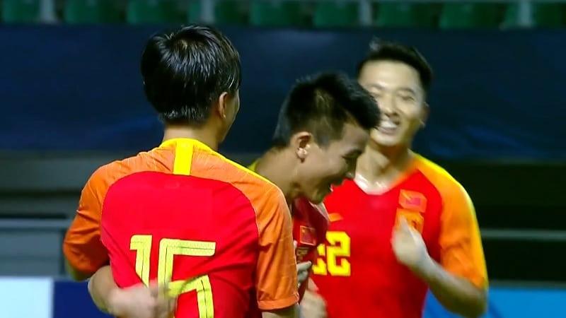 Kiinan U19-maajoukkue / Pallomeri.net