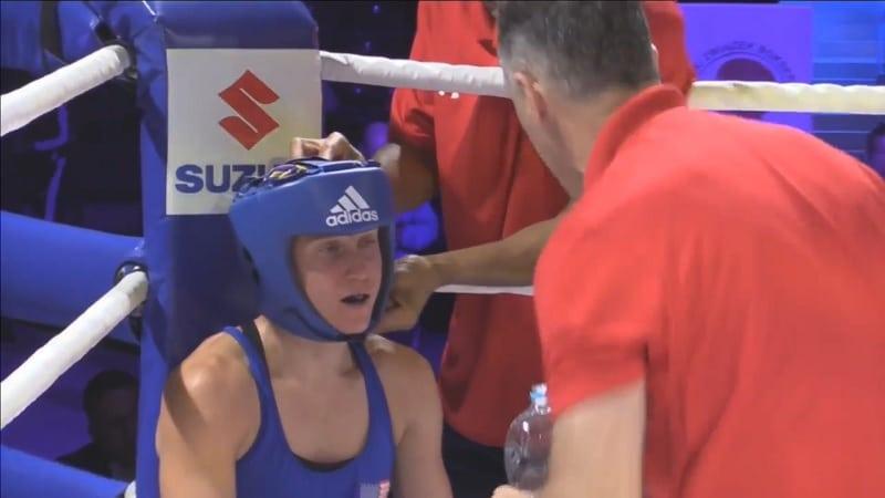 naisnyrkkeilijä Virginia Fuchs / Pallomeri.net