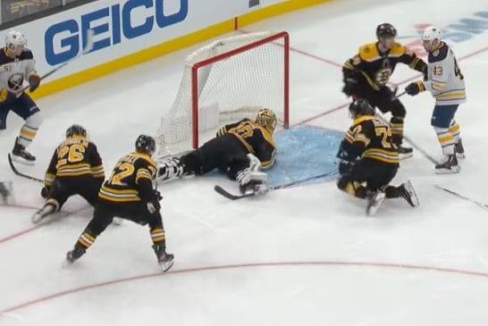 Video: Silmäkarkkia kiekkonälkään - tässä NHL-kauden TOP10-torjunnat!