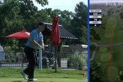 Video: Golfari Ian Poulter heitti kunnon leijan kesken kisan - mikki välitti sen katsojille koko komeudessaan