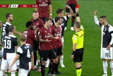 Video: AC Milanin Ante Rebic töhöili huolella - pamautti älyvapaan potkun vastustajan rintaan