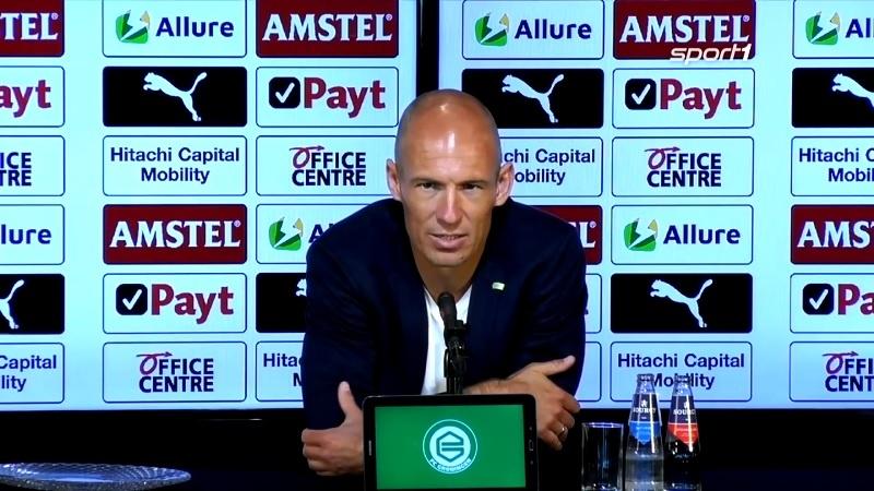 Arjen Robben Groningen / Pallomeri.net