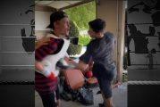 Video: Tubettaja otti nyrkkeilijän heittämän haasteen vastaan - kyyti oli todella kylmää