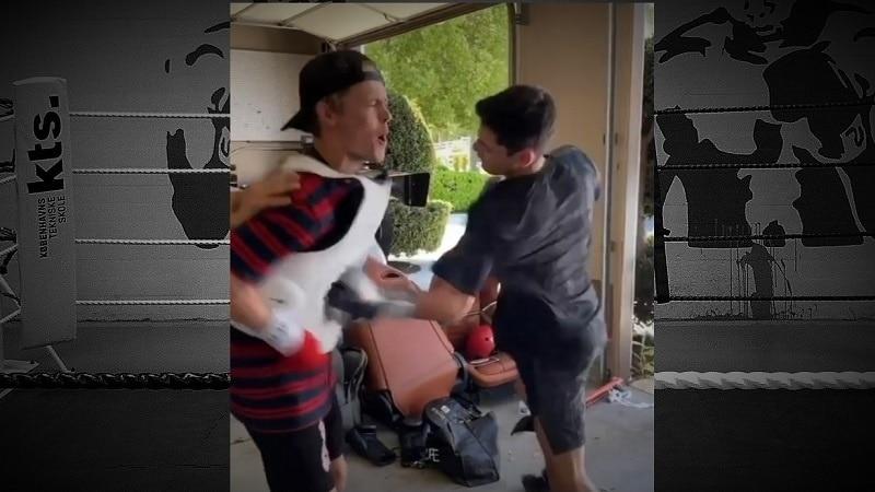 Video: Tubettaja otti nyrkkeilijän heittämän haasteen vastaan – kyyti oli todella kylmää