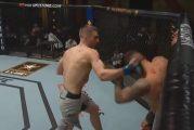 Video: UFC:ssä taottiin historiallinen iskujenvaihto - hävinneen ottelijan naama kertoo ottelun tarinan