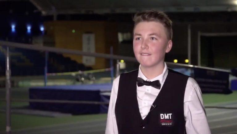 15-vuotias Ben Mertens nappasi historiallisen voiton snookerin MM-karsinnoissa