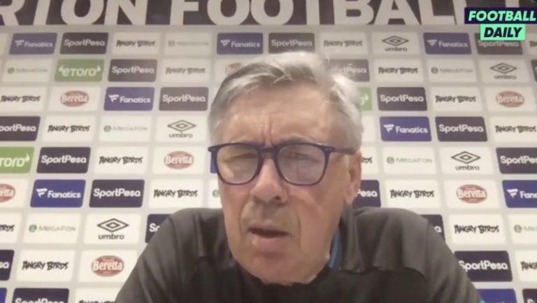 Video: Carlo Ancelotti joutui kiusalliseen tilanteeseen – ei tunnistanut oman seuransa pelaajaa
