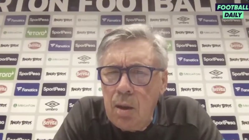 Carlo Ancelotti Everton Valioliiga / Pallomeri.net