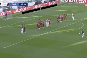 Video: Cristiano Ronaldo pamautti huikaisevan vaparimaalin Serie A:ssa