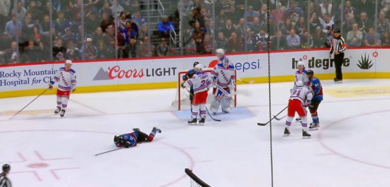 Video: Joonas Donskoin jyrännyt Rangers-peluri sai kahden matsin pelikiellon