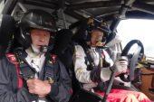 Video: Kalle Rovanperä antoi Isä-Harrille melkoista kyytiä WRC-autolla