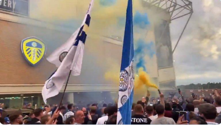 Video: Leeds palaa Valioliigaan 16 vuoden tauon jälkeen – fanit juhlivat riehakkaasti stadionin ulkopuolella