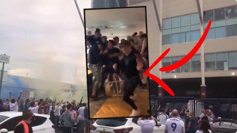 Video: Pelaajien näkökulmasta – hetki jolloin Leedsin Valioliiga-nousu sinetöityi
