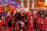 Video: Liverpool pääsi nostamaan mestaruuspokaalin - itse ottelusta muodostui todellinen ilotulitus