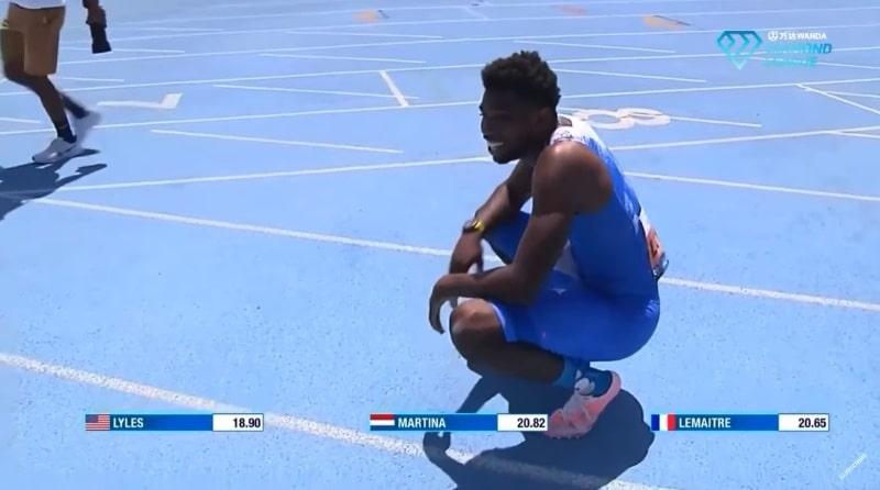 Video: Noah Lyles teki 200 metrin ME:n – tai niin ainakin hetken luultiin