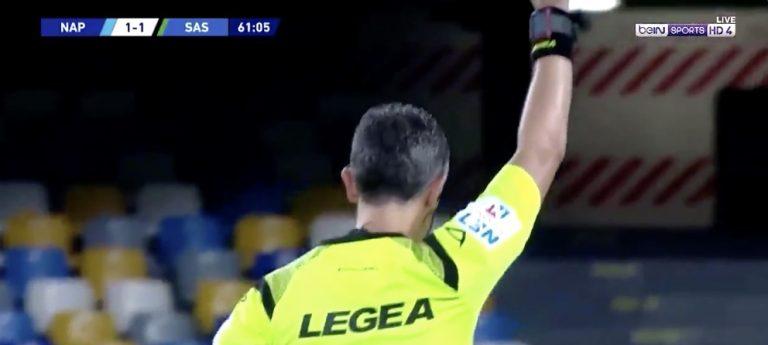 Video: VAR hylkäsi neljä Sassuolon maalia 30 minuutin sisään