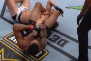 Video: Ruotsalaisottelijan UFC-paluu päättyi nopeasti ja kivuliaasti
