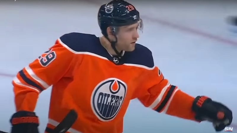Leon Draisaitl Edmonton Oilers Hart / Pallomeri.net