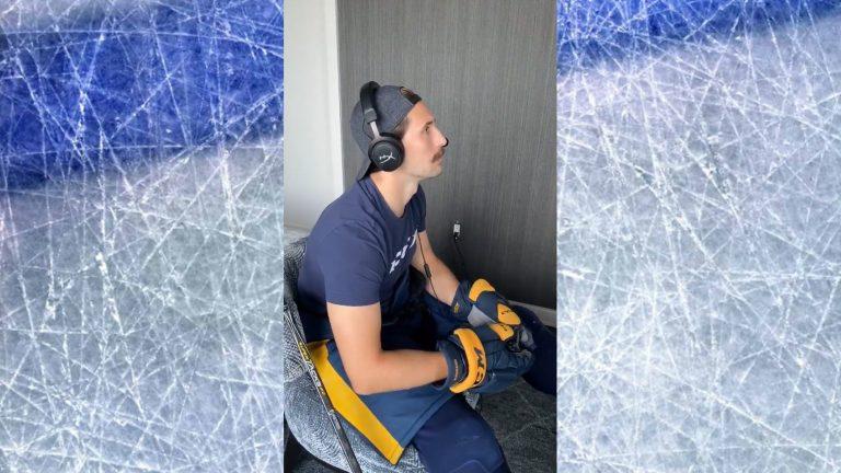 Video: Näin Nashvillen Filip Forsberg valmistautuu playoffeihin – räiskintää pelivehkeet päällä