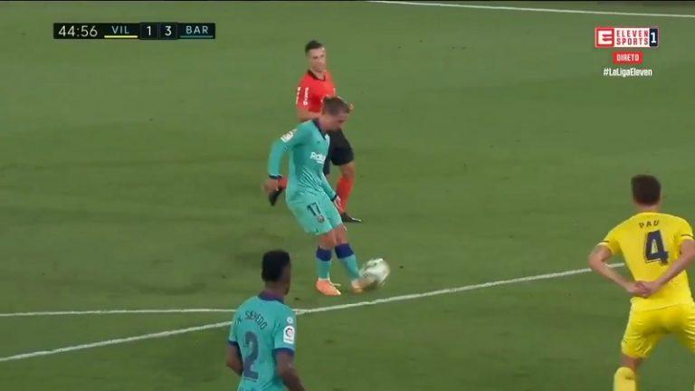 Video: Antoine Griezmann viimeisteli unelmamaalin – Lionel Messi tarjoili jäätävän sokkosyötön