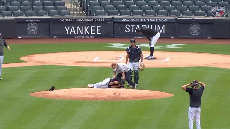 New York Yankeesin syöttäjä Masahiro Tanaka / Pallomeri.net