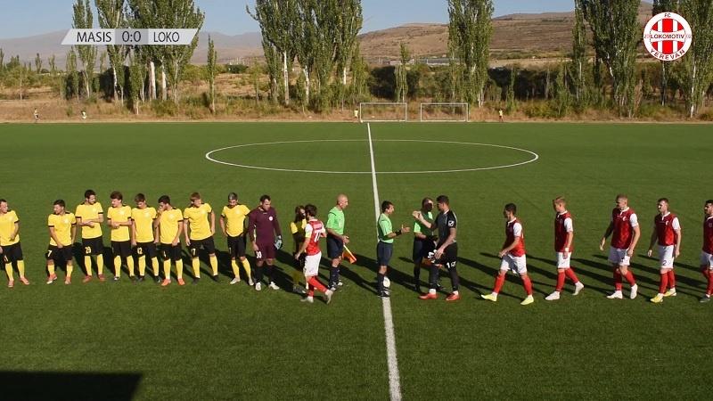 Masis-Lokomotiv Jerevan Armenian kakkostaso / Pallomeri.net