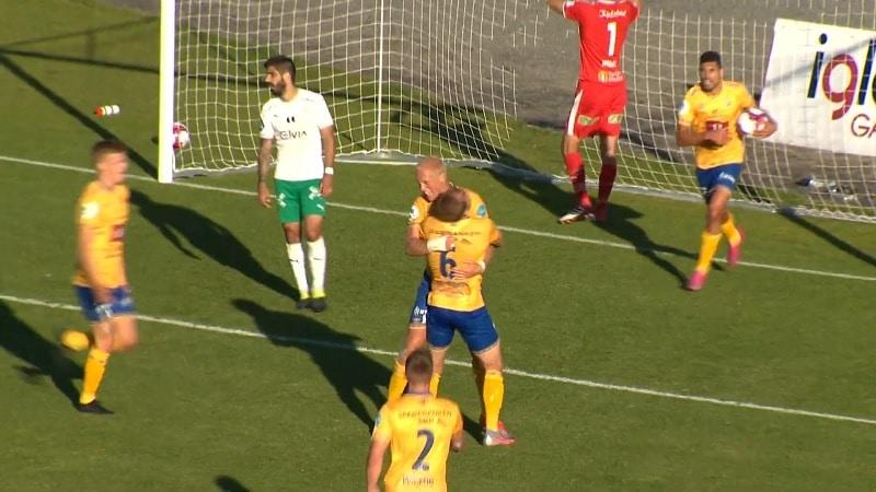 John Olav Norheim FK Jerv maali saksipotkulla / Pallomeri.net