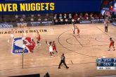 Video: Koominen tilanne NBA:n harjoituspelissä - DJ yritti huudattaa tyhjää katsomoa