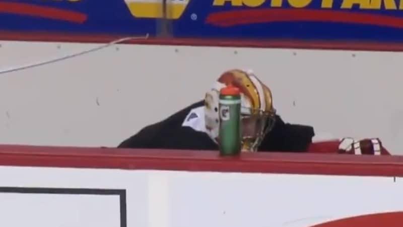 David Rittich Calgary Flames / Pallomeri.net