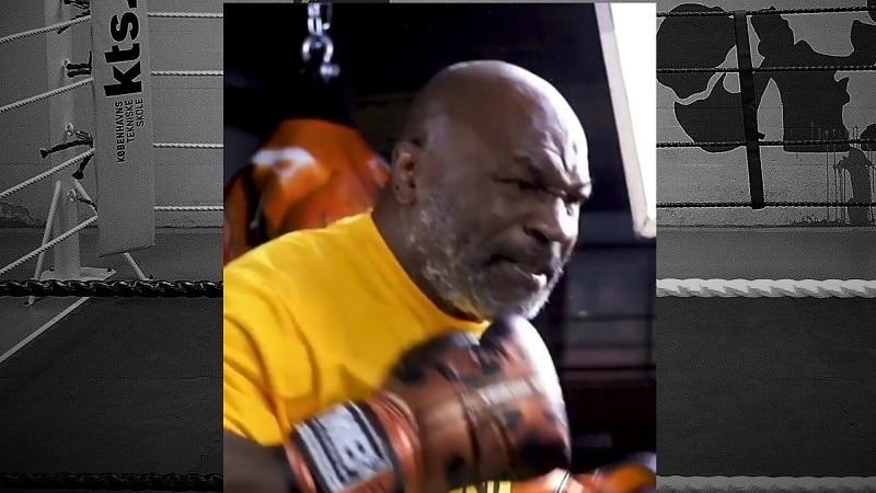 Mike Tysonin treenivideo / Pallomeri.net