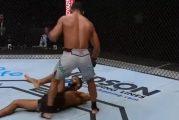 Video: UFC-ottelija makasi kanveesissa puolustuskyvyttömänä - tuomari ei keskeyttänyt ottelua ilman lisäiskuja