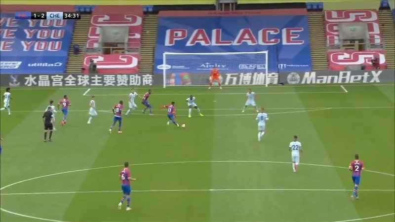 Wilfried Zaha Crystal Palace / Pallomeri.net