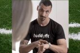 Video: Zlatan Ibrahimovic häärii mainostähtenä Italiassa - toimi tv-juontajan personal trainerina