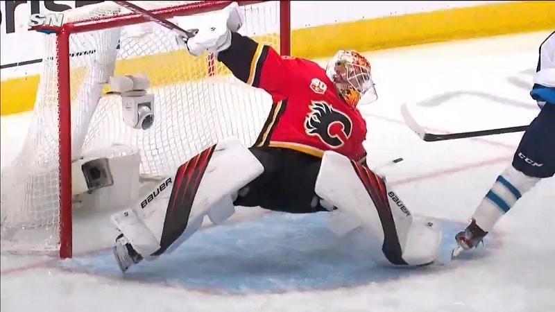 Cam Talbot Calgary Flames / Pallomeri.net