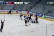Video: Huikea loppuratkaisu NHL:ssä - Colorado teki voittomaalin 0,1 sekuntia ennen päätössummeria