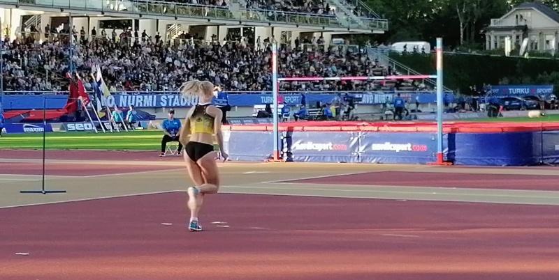 Heta Tuuri Paavo Nurmi Games korkeushyppy - pallomeri.net